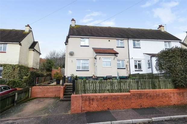 4 Bedrooms Semi Detached House for sale in Broadpark Road, Exmouth, Devon