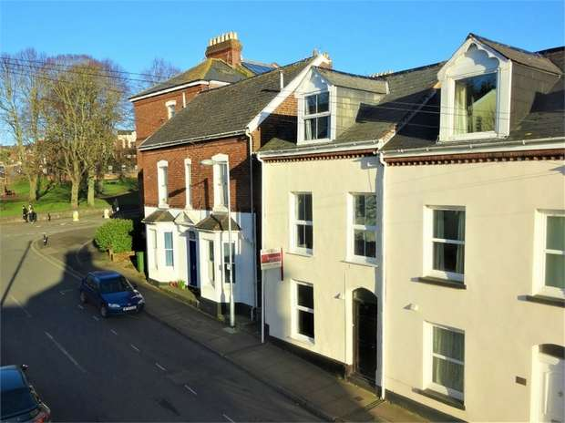 3 Bedrooms End Of Terrace House for sale in Clifton Road, Newtown, EXETER, Devon