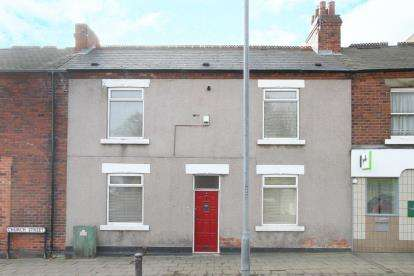 3 Bedrooms Terraced House for sale in Church Street, Staveley, Chesterfield, Derbyshire