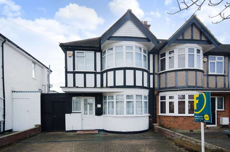 3 Bedrooms End Of Terrace House for sale in Minehead Road, Rayners Lane, HA2