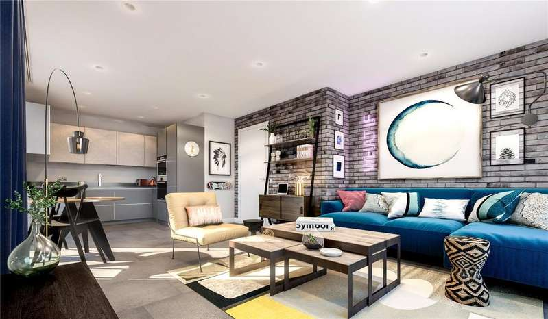 3 Bedrooms Flat for sale in Old Smokehouse, London, E3
