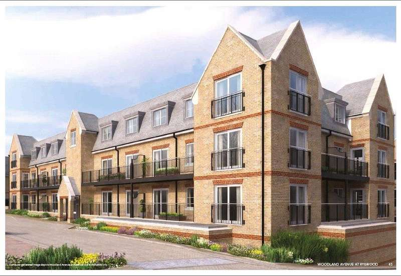 2 Bedrooms Flat for sale in 426 Maple House, Ryewood, Dunton Green, Sevenoaks, TN14