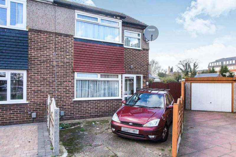 3 Bedrooms End Of Terrace House for sale in Edinburgh Crescent, Waltham Cross, Herts EN8