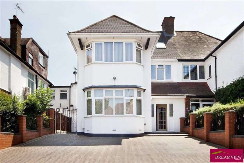 6 Bedrooms Semi Detached House for sale in GRESHAM GARDENS, GOLDERS GREEN, LONDON, NW11