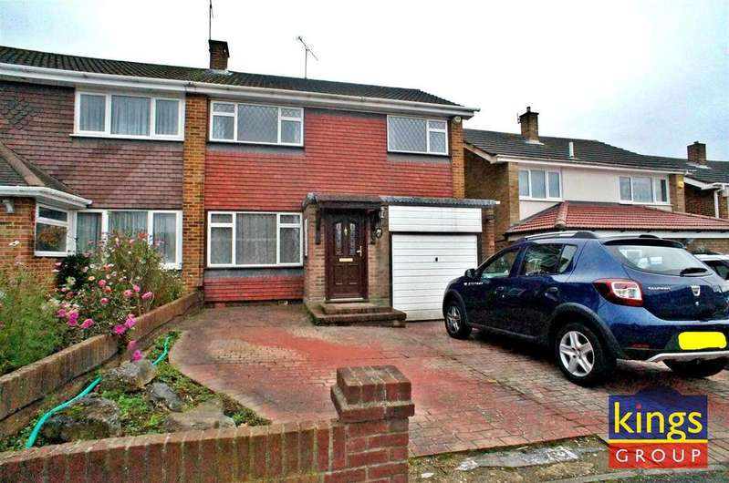 3 Bedrooms Semi Detached House for sale in Tudor Way, Waltham Abbey