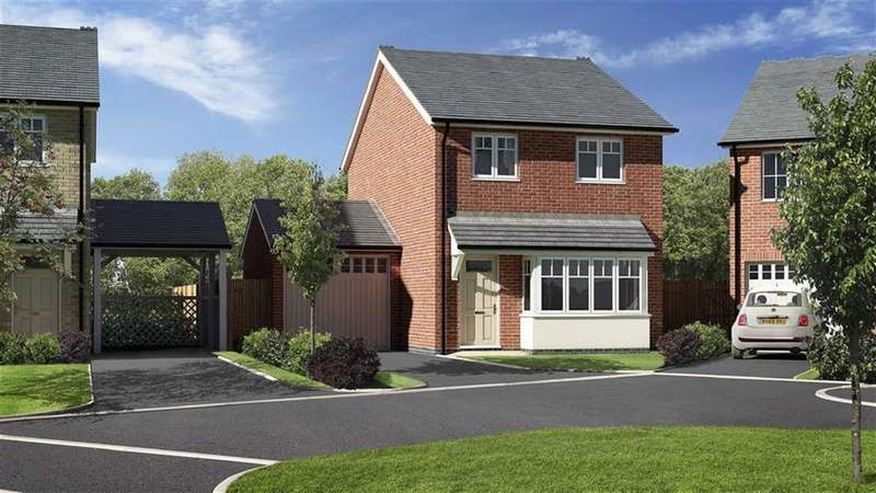 3 Bedrooms Detached House for sale in Plot 17, Meadowdale, Barley Meadows, Llanymynech, Shropshire, SY22