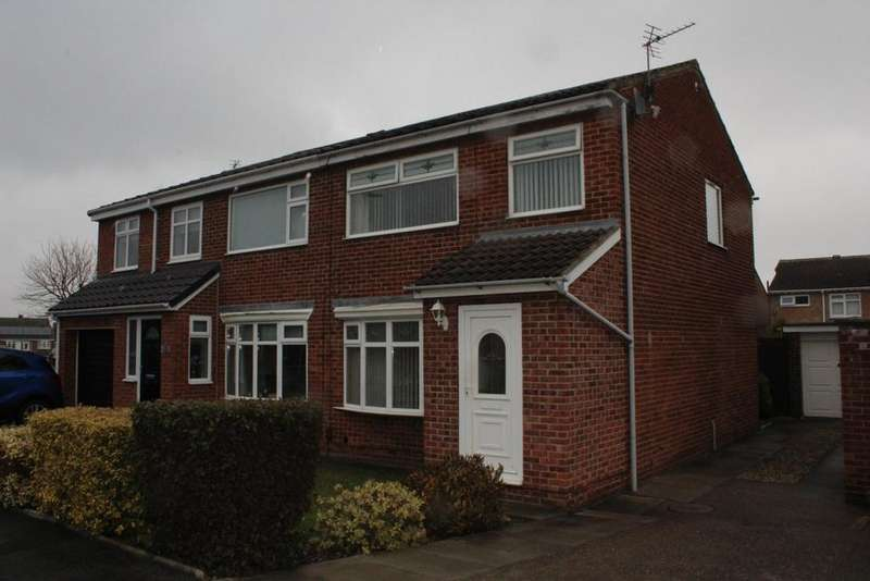 3 Bedrooms Semi Detached House for rent in Spilsby Grove, Hartlepool