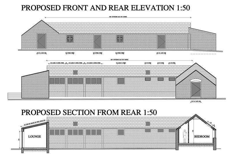 Land Commercial for sale in The Barn, Tern Hill, Market Drayton