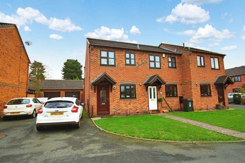 2 Bedrooms End Of Terrace House for sale in Ridings Close, Market Drayton