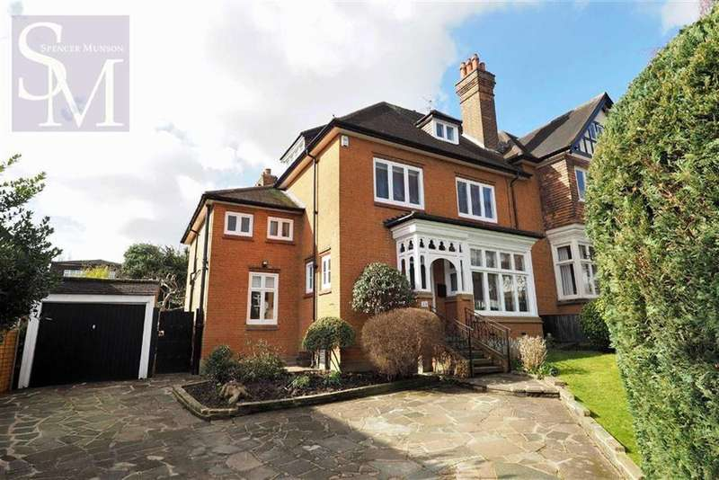 5 Bedrooms Semi Detached House for rent in Ollards Grove, Loughton, Essex