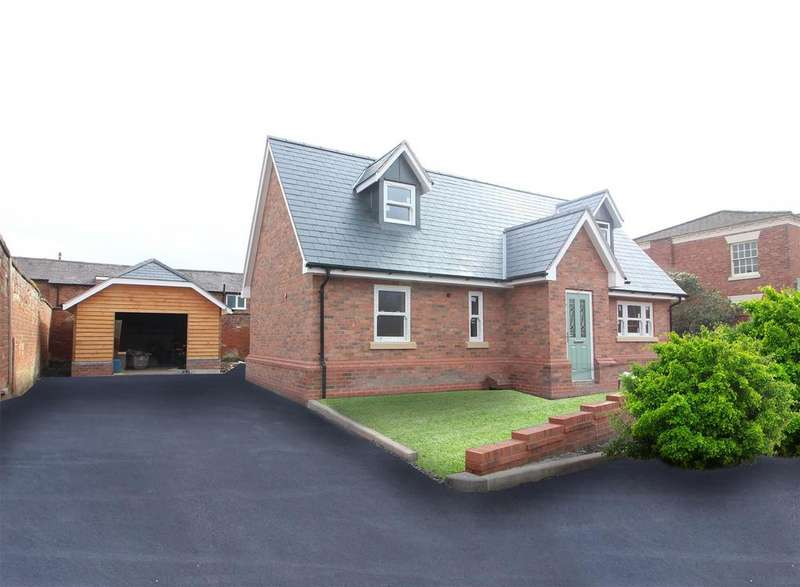 3 Bedrooms Detached Bungalow for sale in Pyms Road, Wem, Shrewsbury