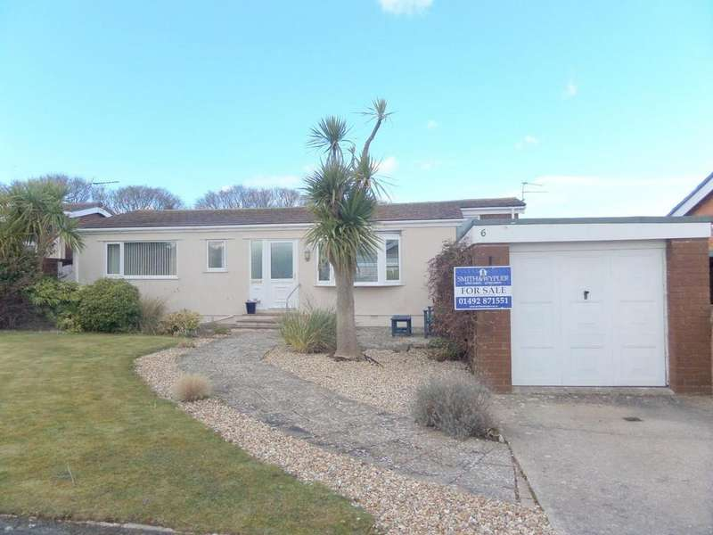 3 Bedrooms Detached Bungalow for sale in Craig Drive, Penrhyn Bay