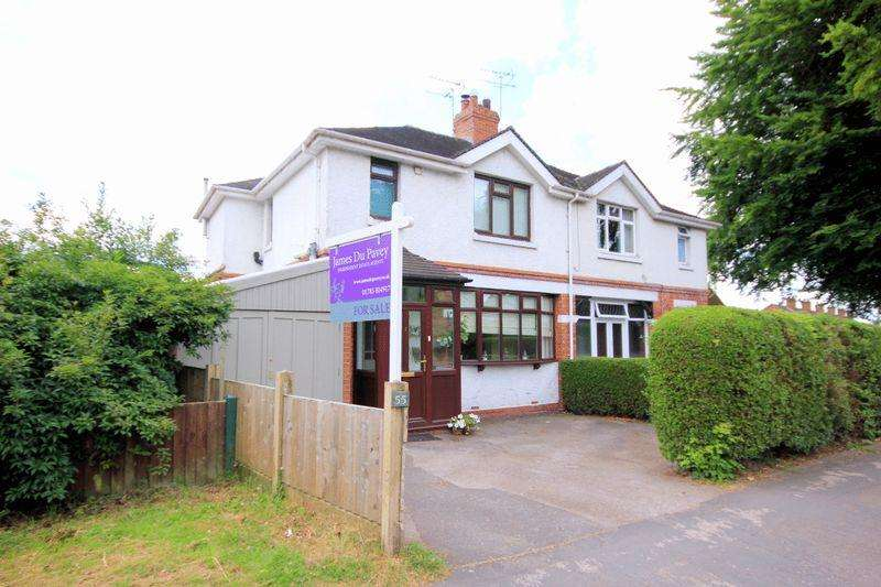 3 Bedrooms Semi Detached House for sale in Lichfield Road, Stone