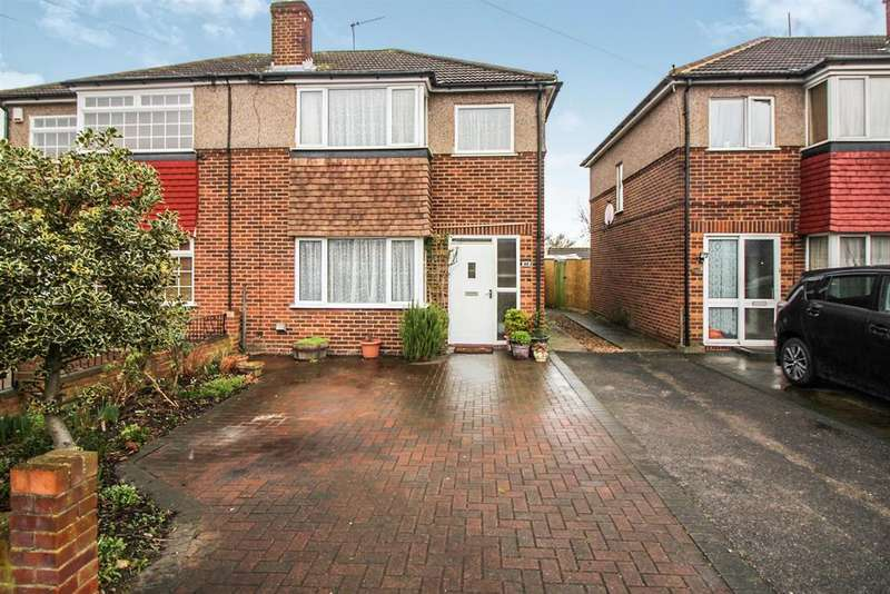 3 Bedrooms Semi Detached House for sale in Edinburgh Crescent, Waltham Cross, Herts EN8