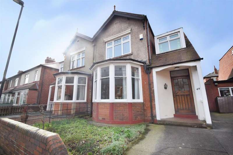 3 Bedrooms Semi Detached House for sale in Kenilworth Road, Monkseaton