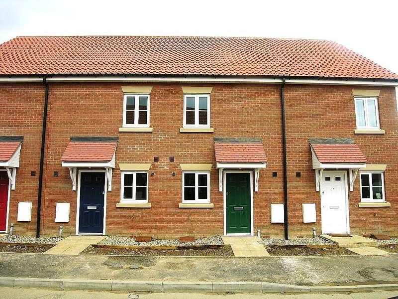 3 Bedrooms Terraced House for rent in Castle Gardens Grange Farm Ipswich
