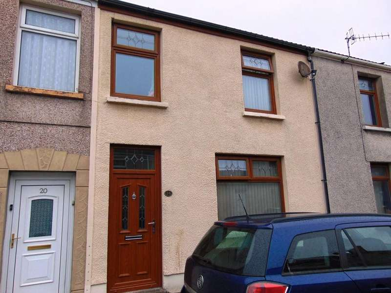 3 Bedrooms Terraced House for sale in Glanmor Road, Llanelli