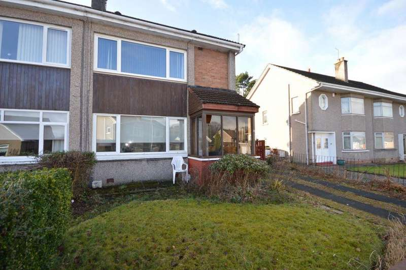 2 Bedrooms Semi Detached House for sale in 31 Dunvegan Drive, Bishopbriggs, Glasgow, G64 3LB