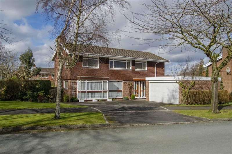 3 Bedrooms Detached House for sale in Audley Crescent, Belgrave Park, Chester
