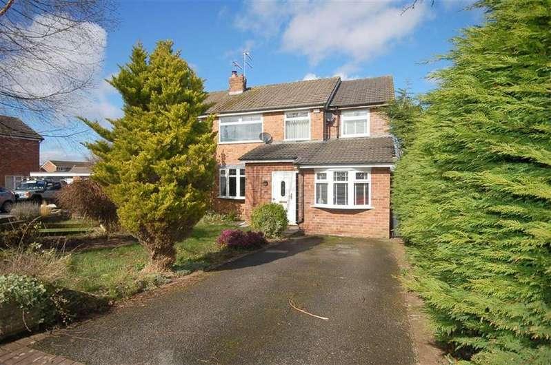 4 Bedrooms Semi Detached House for sale in Buckingham Close, Wistaston, Crewe