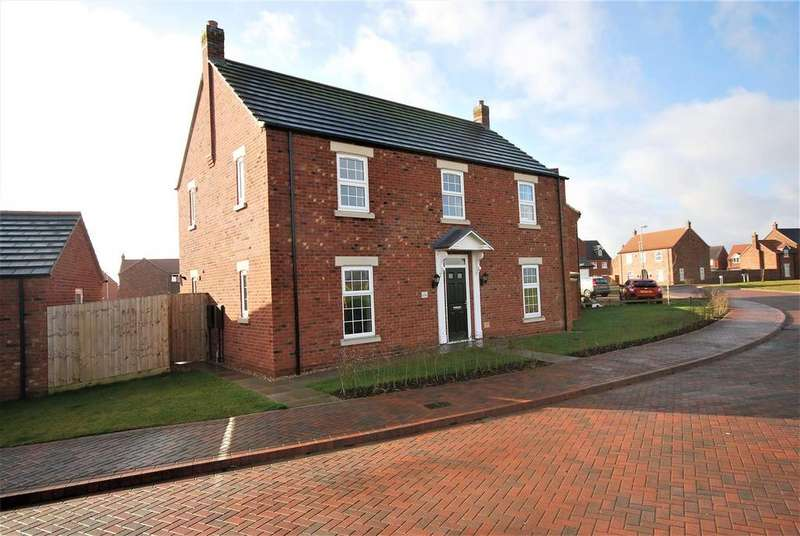 4 Bedrooms Detached House for sale in Tansy Way, Spalding