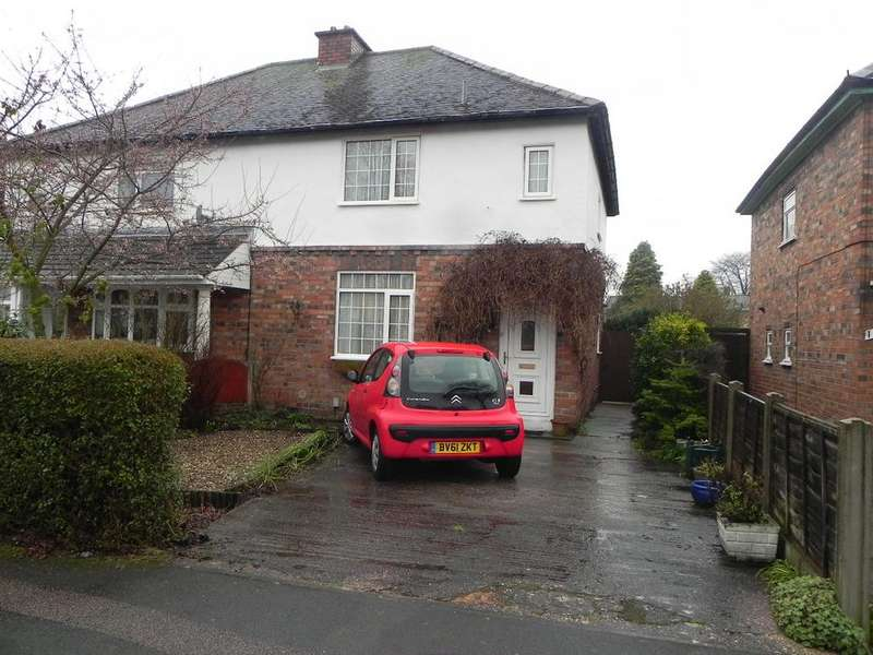 3 Bedrooms Semi Detached House for sale in Willington Road, Tamworth B79 8AS