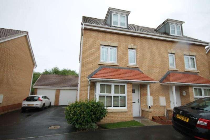 4 Bedrooms Semi Detached House for rent in Hillmorton Road, Ingleby Barwick