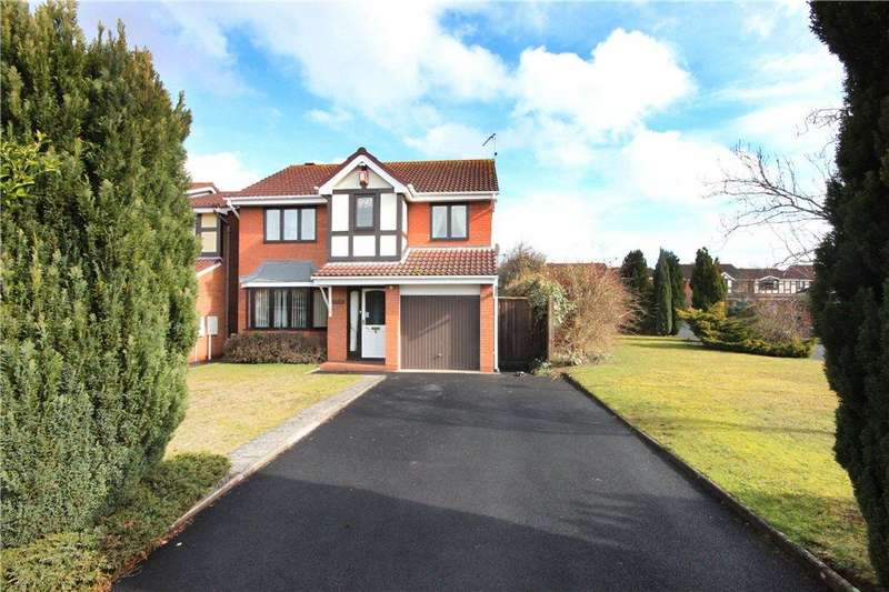 4 Bedrooms Detached House for sale in Golden Hind Drive, Stourport-on-Severn, DY13