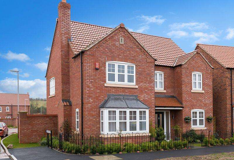 4 Bedrooms Detached House for sale in 22 Rutland Avenue, Waddington