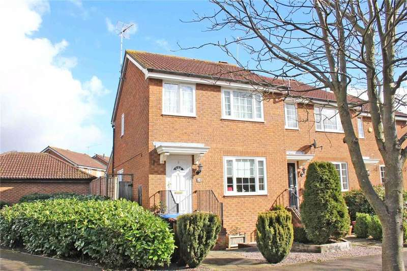 3 Bedrooms End Of Terrace House for sale in Tempsford, Welwyn Garden City, Hertfordshire