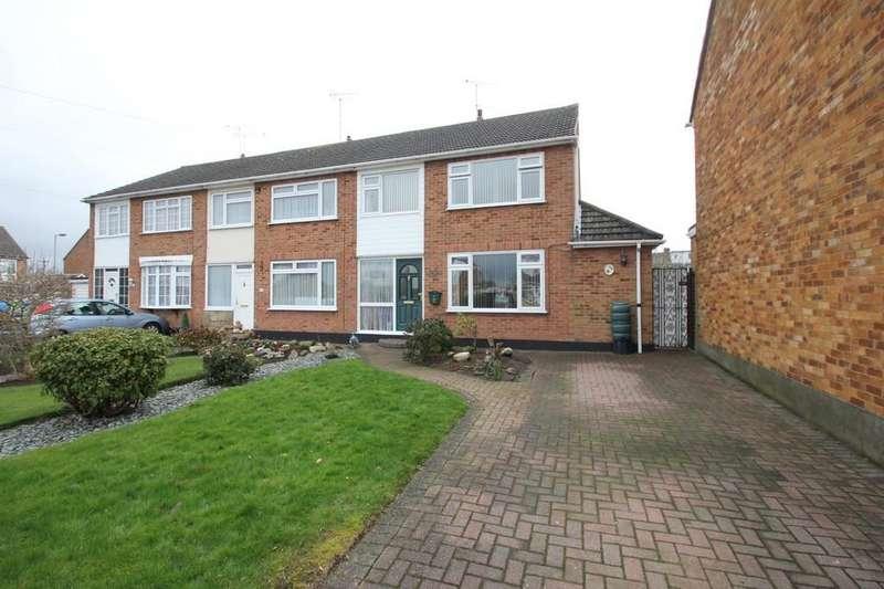 3 Bedrooms End Of Terrace House for sale in Keswick Avenue, Hullbridge