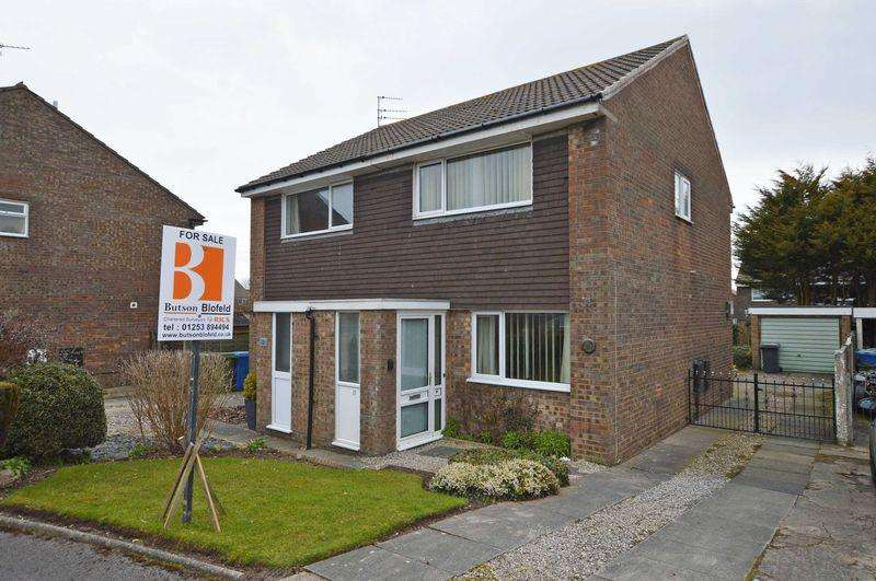 2 Bedrooms Semi Detached House for sale in Harewood Close, Carleton, FY6 7RB