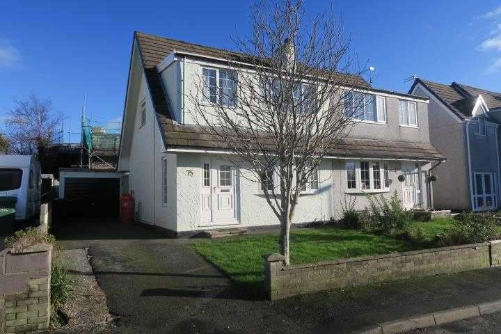 3 Bedrooms Semi Detached House for sale in Nant Y Felin, Pentraeth