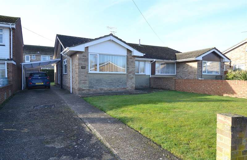 3 Bedrooms Semi Detached Bungalow for sale in Highgate Road, South Tankerton, Whitstable
