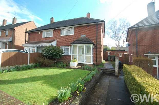 2 Bedrooms Semi Detached House for sale in Clarkes Lane, WEST BROMWICH, West Midlands