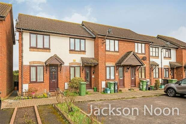 2 Bedrooms End Of Terrace House for sale in Godwin Close, West Ewell