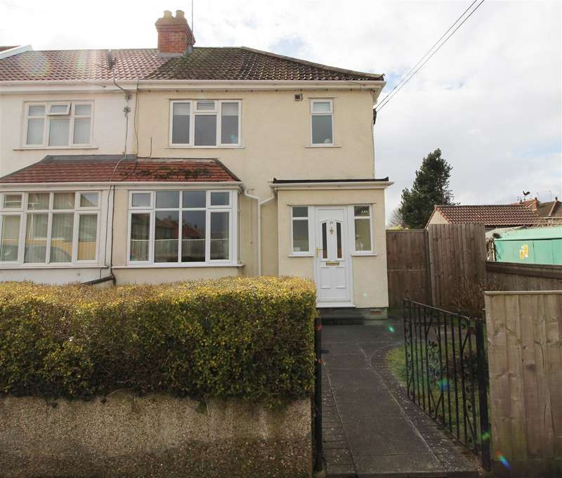 3 Bedrooms End Of Terrace House for sale in Elmleigh Road, Bristol