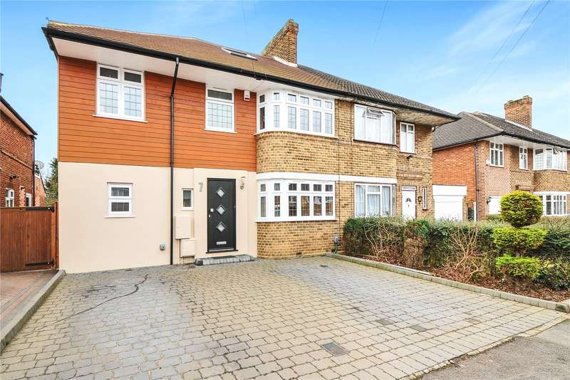 6 Bedrooms Semi Detached House for sale in Cambridge Drive, Eastcote, Middlesex, HA4