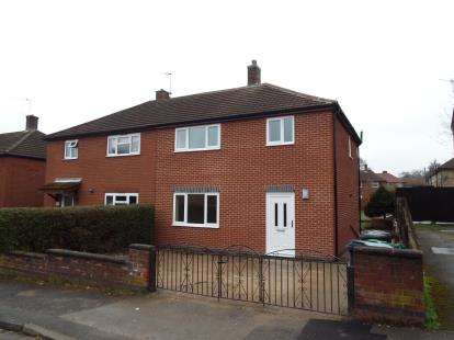 3 Bedrooms Semi Detached House for sale in Goodwood Avenue, Arnold, Nottingham