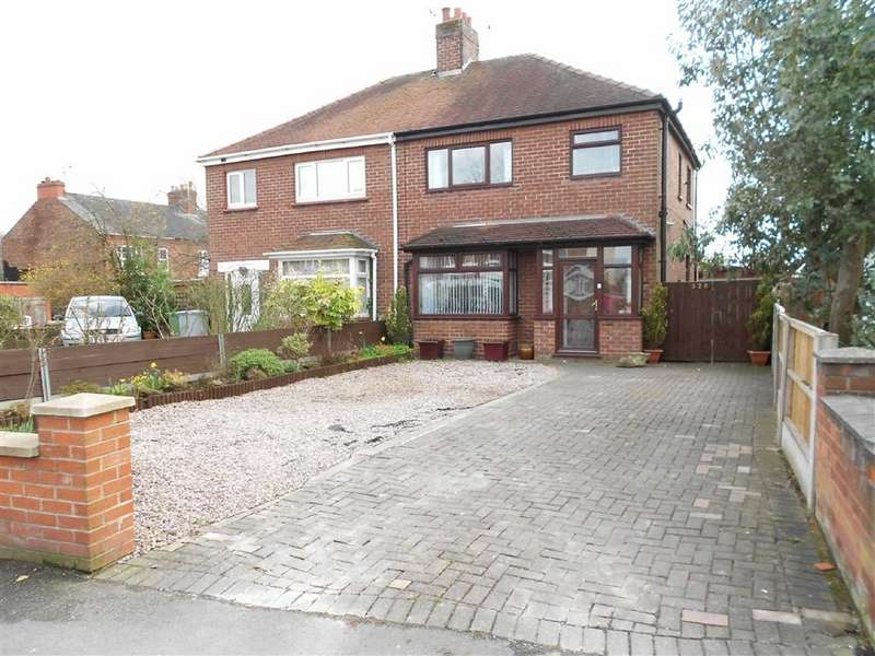 3 Bedrooms Semi Detached House for sale in Hungerford Road, Crewe, Cheshire