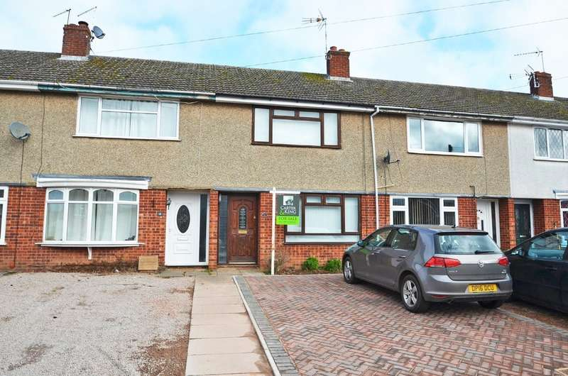 2 Bedrooms Terraced House for sale in Hill Crescent, Stretton On Dunsmore, Rugby