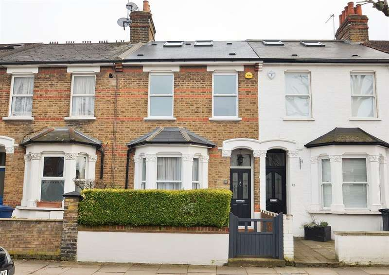 5 Bedrooms Terraced House for sale in Darwin Road, Ealing, W5 4BD