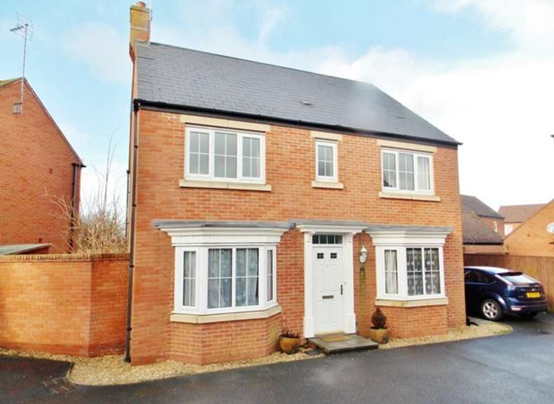 4 Bedrooms Detached House for rent in Pathfinder Way, North Swindon