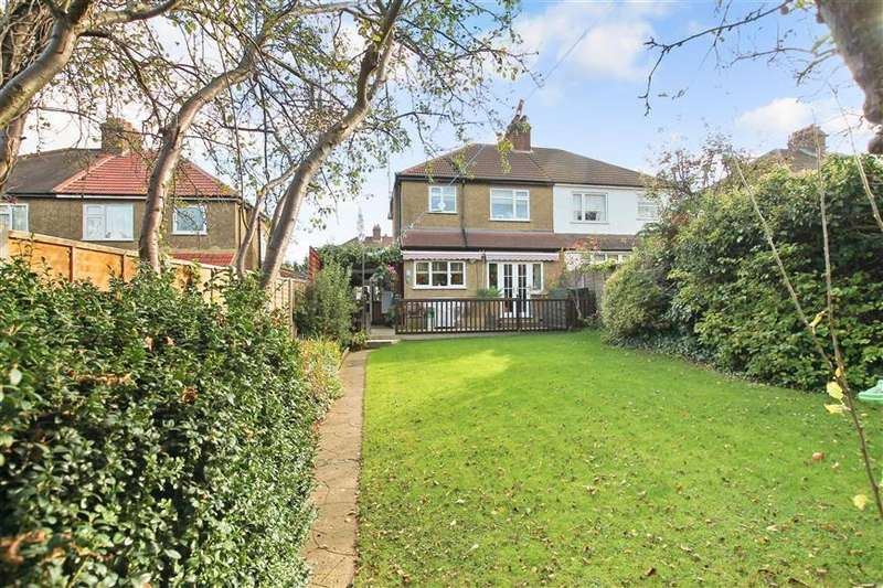 3 Bedrooms Semi Detached House for sale in Ashleigh Gardens, Sutton, Surrey