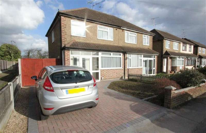 3 Bedrooms Semi Detached House for rent in Brook Drive, Wickford, Essex