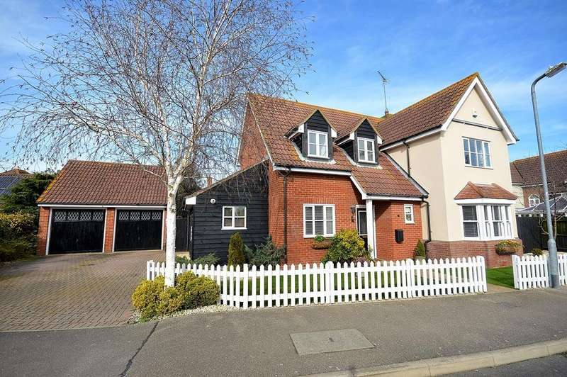 4 Bedrooms Detached House for sale in Robinsons Close, Southminster, Essex, CM0