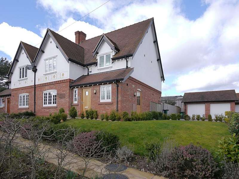 4 Bedrooms Semi Detached House for sale in Ivy Cottage, Barton, SY14 7HU