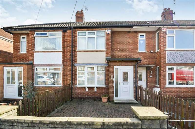 2 Bedrooms Terraced House for sale in Worcester Road, Hull