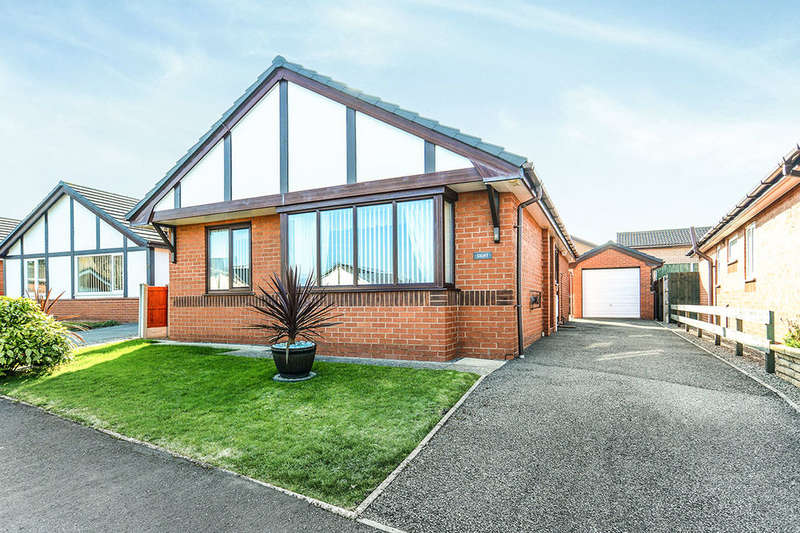 3 Bedrooms Detached Bungalow for sale in Glenfor, Abergele, LL22