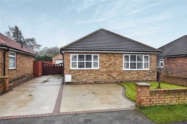 2 Bedrooms Detached Bungalow for sale in Whitby Avenue, Stockton Lane, YORK